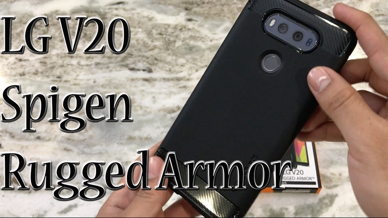 reputable site 07a6c 381d7 LG V20 Spigen Rugged Armor Case