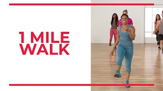 1 Mile Walk with Nadyia | Walk at Home