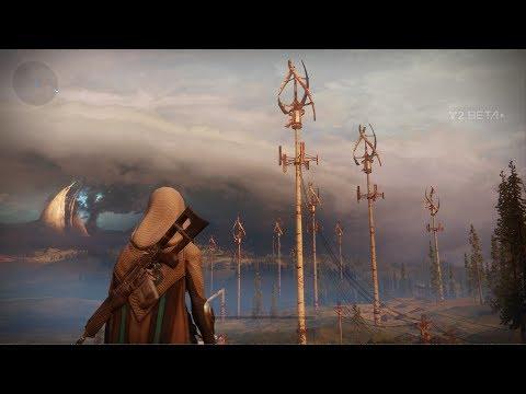 Destiny 2 Beta -  The Farm Social Space