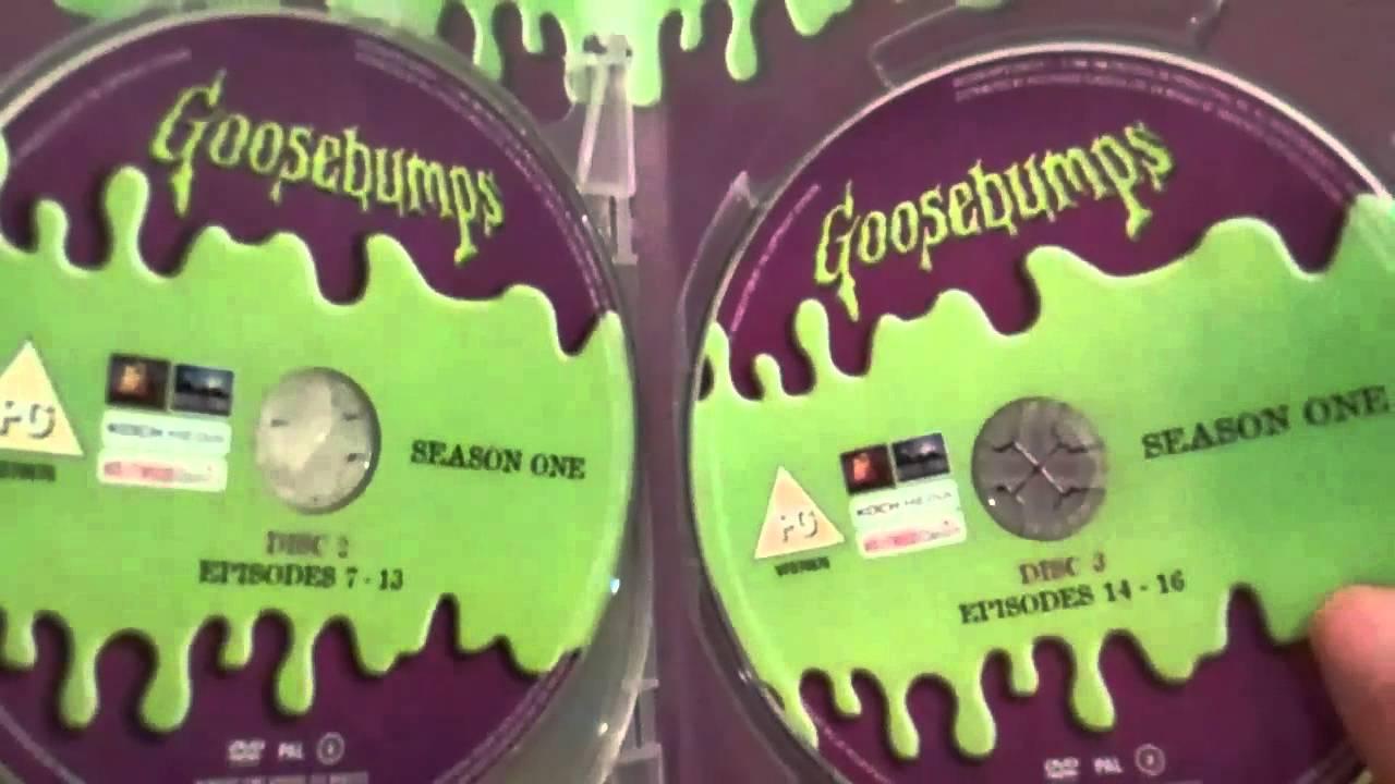 Dvd Unboxing: Goosebumps (Season One)