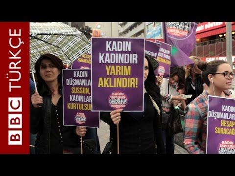 Kadınlar Erdoğan'ın sözlerine tepkili - BBC TÜRKÇE
