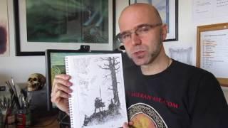 Norse Mythology original drawing winner