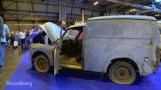 Rusty Old Van Unlikely Highlight of Classic Car Show