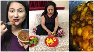 Healthy & Tasty Gudhamba Recipe || Kache Aam aur Gudh ki chutney || Jaggery Raw Mango Chutney Recipe