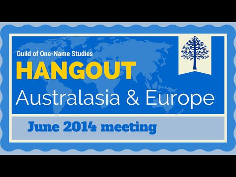 Europe & Australasia Guild June Hangout