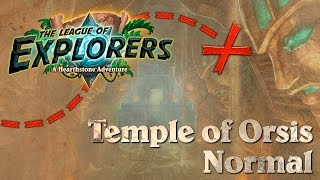Hearthstone: One Man Raid - LoE #1 - Temple of Orsis Normal & Class Challenges