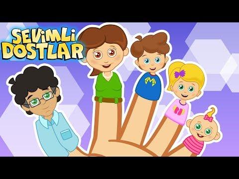 Çocuk Şarkıları Dinle 2018 Sevimli Dostlar Parmak Ailesi | Kids Songs And Nursery Rhymes