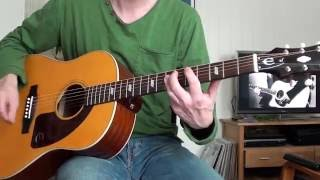 Nirvana - Here She Comes Now Acoustic (Guitar Cover)