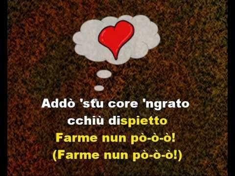 FUNICULI FUNICULA - Illustrated Karaoke in Neapolitan Language