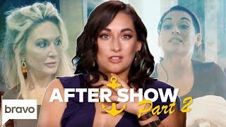 Kate Chastain-Laura Betancourt Feud Reaches Breaking Point | Below Deck After Show Part 2 (S6 Ep13)