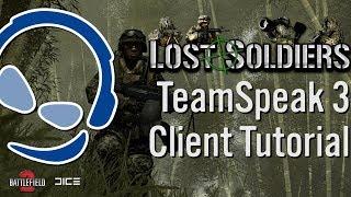 TeamSpeak 3 Tutorial | Lost-Soldiers.org