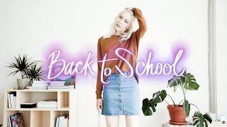 School Outfit Ideas / / Осенний Гардероб на Учебу и на Каждый День