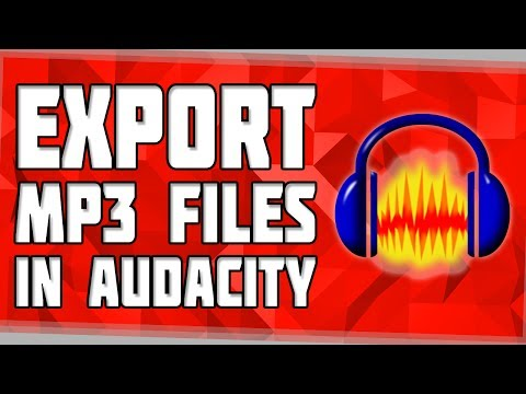 How to Export MP3 Files in Audacity! Export MP3 in Audacity! How to add Lame to Audacity!