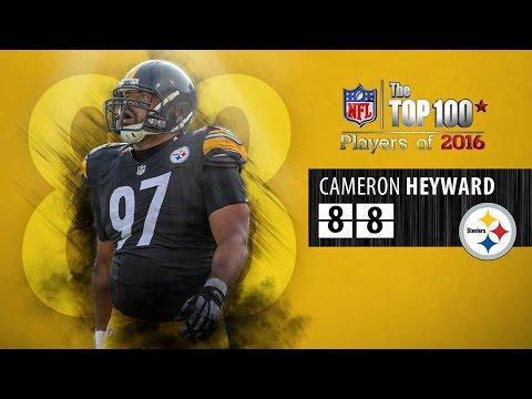#88: Cameron Heyward (DE, Steelers) | Top 100 NFL Players of 2016