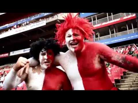 Official Lions Rugby Anthem Music Video by 947
