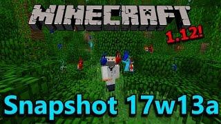 Minecraft 1.12 Snapshot 17w13a- Parrots, Recipe Book, Advancements!
