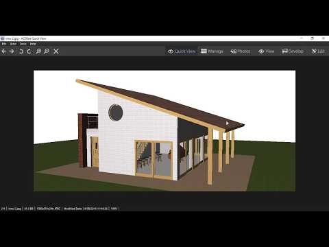 Rhino Tutorials : LECTURE 05 - Building a Small House in Rhi