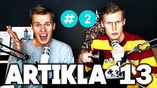 Miten Artikla 13 vaikuttaa YouTubeen? | BackPodcast #2