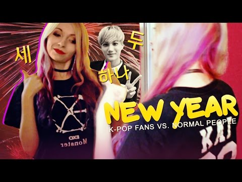 Normal People Vs K Pop Fans New Year Edition Youtube