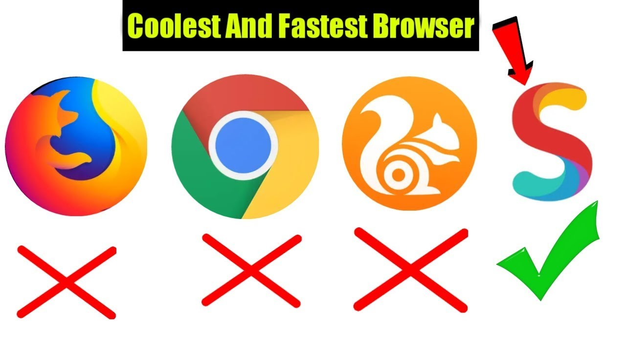 Best Fastest Browser || UC Browser vs S Browser || Android Best Browser 2018