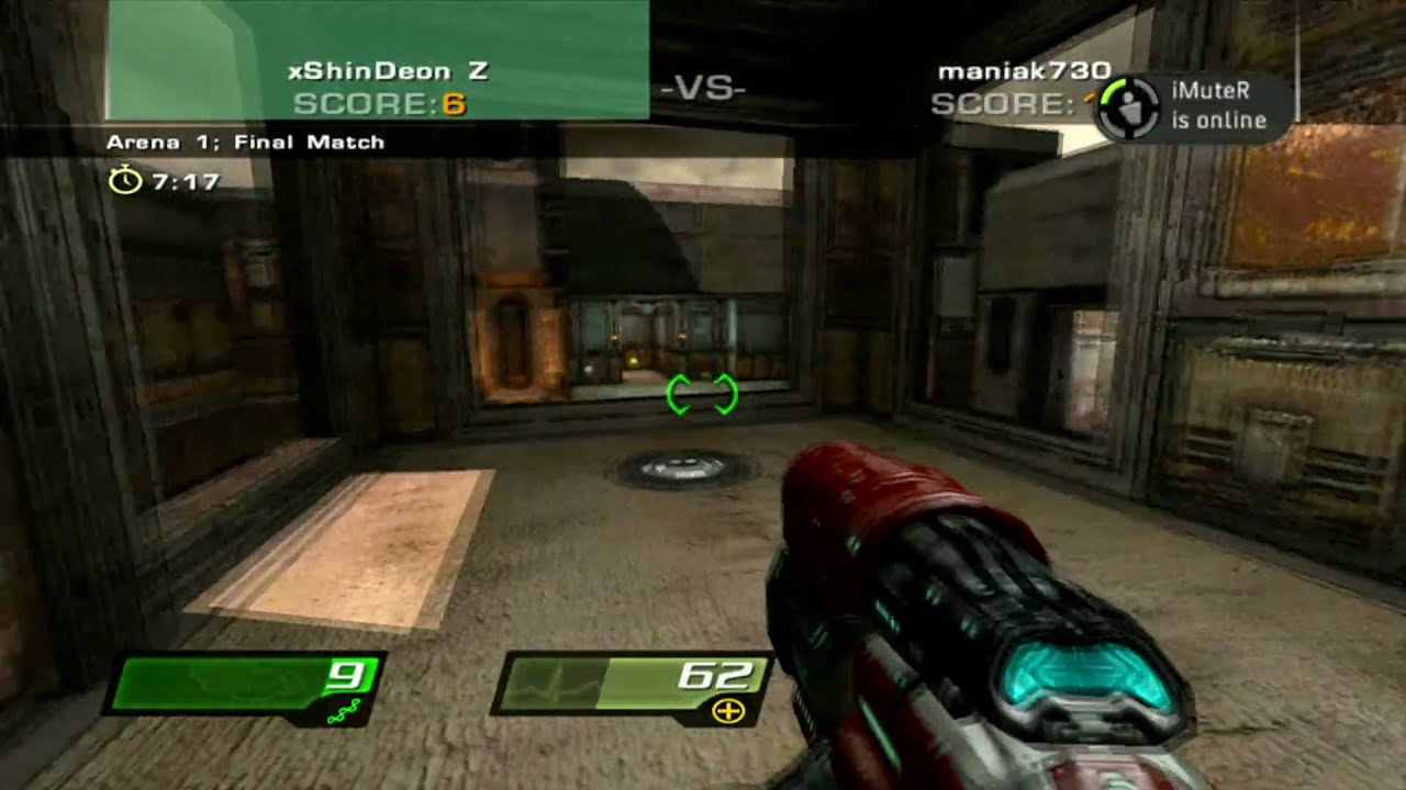 Quake 4 Online Multiplayer Gameplay 1080p X2 Shindeon Z