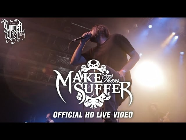 Make Them Suffer - Summerblast 2015 (Official HD Live Video) #1