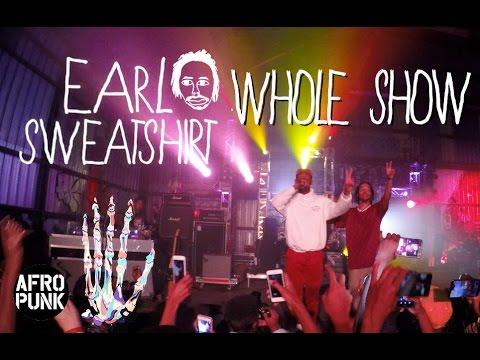 Earl Sweatshirt AfroPunk (Whole Show)
