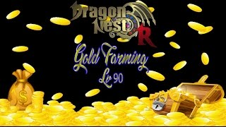 Dragon Nest R SEA - Gold Farming Tips lvl 90 Pt.1