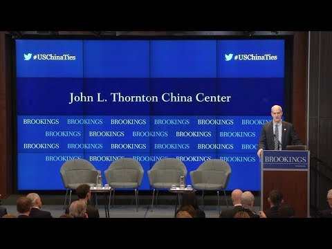 The end of U.S. engagement with China? - Part 1