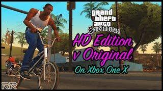 Grand Theft Auto: San Andreas HD Edition vs Original on Xbox One X