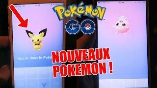 PICHU & TOUDOUDOU les NOUVEAUX BEBES POKEMON GO !  - Pokémon GO fr #69 Chasse Baby news !