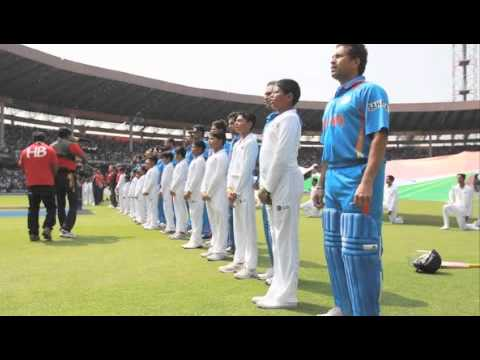 Ind Vs Pak (WC2011) True Indian spirit.. Bharat humko.. Roja.. Travel Video