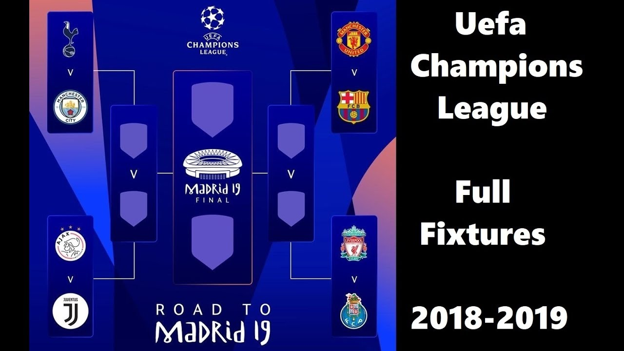 Champions League Upcoming Fixtures