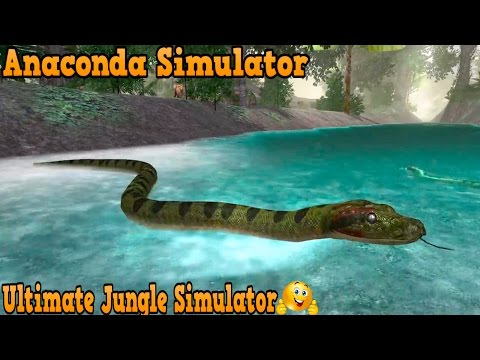 🐍👍Anaconda Simulator-Симулятор Анаконды-Ultimate Jungle Simulator-By Gluten Free Games