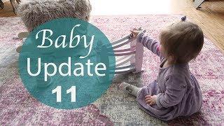 Baby Update - 11. Monat - Wickelstreik!!