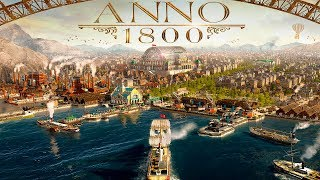 Anno 1800 - 10,000 Farmers on One Small Island - How Big Can We Get? - Anno 1800 Gameplay Part 1