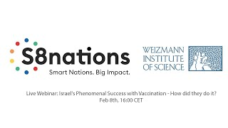 S8nations Webinar: Israel's Phenomenal Success with Coronavirus Vaccination: How did they do it?