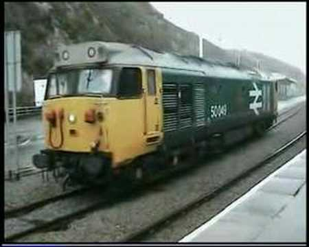 50049 Defiance at Fishguard Harbour 02-09-06