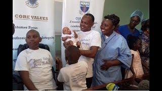 KNH celebrates baby Jeremiah born weighing 400 grams
