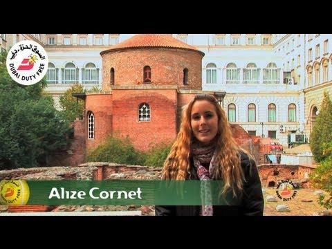 Alize Cornet   Sofia Full of Surprises Travel Show   Dubai Duty Free