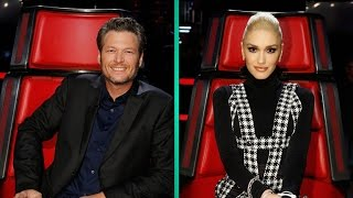 Blake Shelton Flirts With Gwen Stefani on