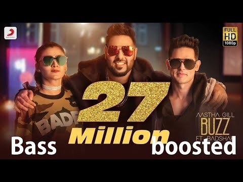 Bass Boosted  Buzz Feat Badshah 320kbps  Hindi Music  Bollywood