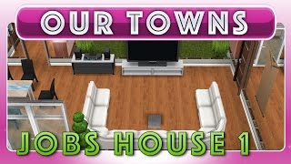 Sims Freeplay - Steve Jobs House In Sims Peaks (original House Design)