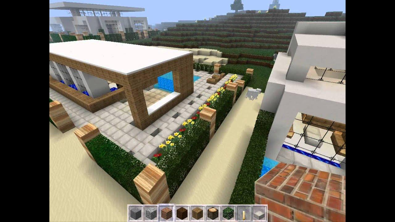 Minecraft Къщи на плажа + Download Link - YouTube