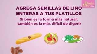 Cómo tomar la linaza para adelgazar | APERDERPESO.COM
