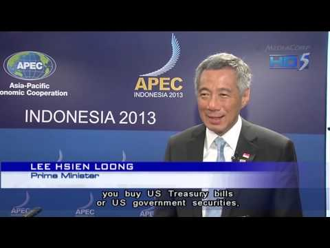PM Lee: Financial markets could head into uncharted waters if US defaults - 08Oct2013