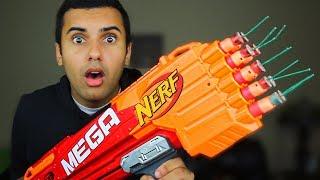 NERF DIY EXPLOSIVE DARTS MOD!!! (EXTREME NERF MOD!!) TOY MOD!! *INSANELY AWESOME*