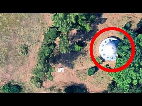 10 Секретных Мест, Которые Google Maps Скрывают от Нас