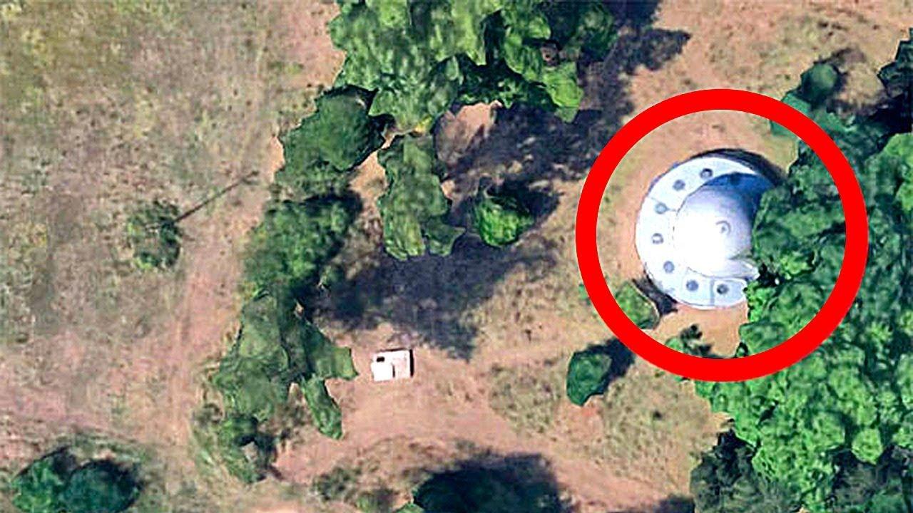 10 Секретных Мест, Которые Google Maps Скрывают от Нас MyTub.uz