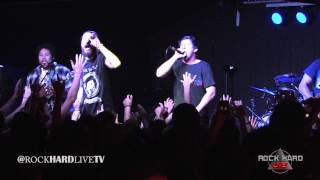 Dance Gavin Dance ~ The Robot With Human Hair Pt. 4 ~ Live HD 4/3/15 on ROCK HARD LIVE